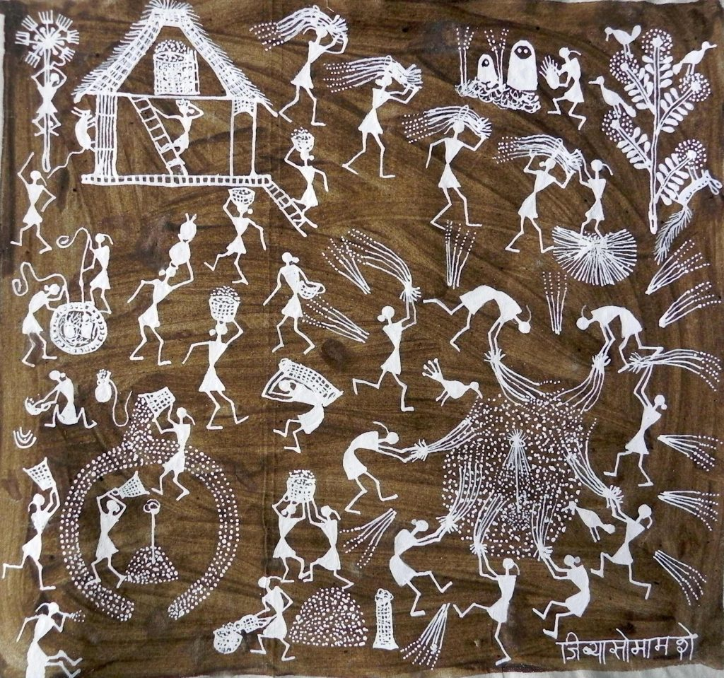 Warli a living tribal art form in maharashtra warli a living tribal art form in maharashtra altavistaventures Image collections